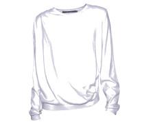 Pullover Crist mit Raffung in Weiß