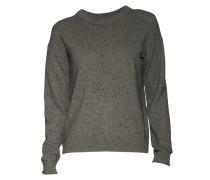 Pullover Cotton Yak in Grau meliert