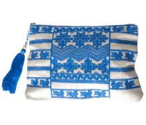 Tasche Leila in Creme-Blau