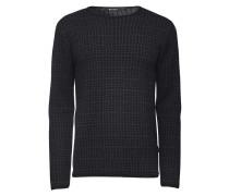 Pullover Ware aus Wolle schwarz