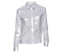 Bluse Short Cotton in Weiss