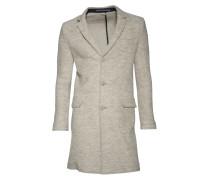 Mantel Fernie aus Schurwolle in Beige meliert