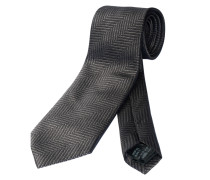 Krawatte Columbo gemustert in Grau