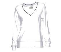 Sweatshirt Tennis white