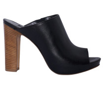 Block Heels in Schwarz