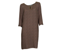 Kleid mit Gold-Details