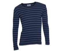 Longsleeve Tobias Long grey/ navy