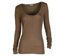 Langarm-Shirt Marie camel