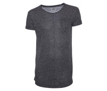 Shirt Tob Pocket charcoal melange