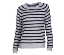 Pullover mit Rundhalsausschnitt gestreift