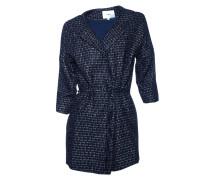 Mantel Elga in Schwarz-Blau