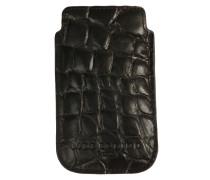 iPhone Tasche Mobile2 Croco schwarz