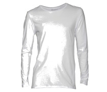 Shirt Long Sleeve in Weiss