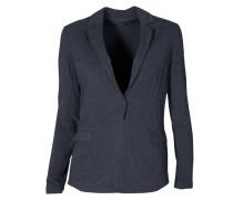 Jersey-Blazer in Grau meliert