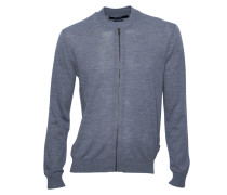 Cardigan Dylans aus Wolle in Grau