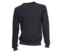 Pullover Mathias aus Baumwolle in Dunkelblau