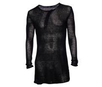 Leinen-Pullover Thiago schwarz