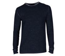 Sweatshirt blau-grau meliert