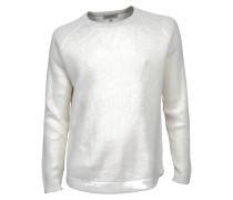 Pullover Dean in Creme-Weiß