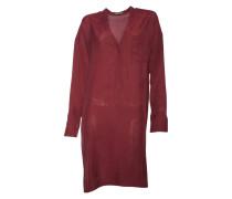 Kleid Gill in Dunkelrot