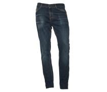 Jeans Evolve in dunkelblauer Waschung