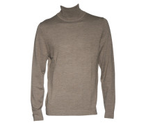 Pullover Joey aus Merinowolle in Braun