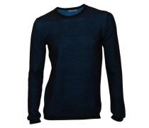 Pullover Landon in Schwarz-Blau