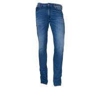 Jeans Jaw in Blau im Vintage-Stil