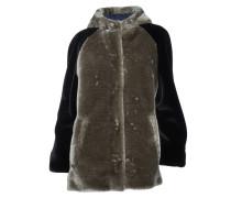 Mantel Cool in Grau-Schwarz