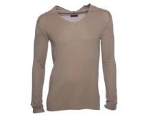 James Kaschmir-Pullover beige-braun