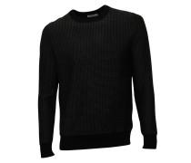 Pullover Remto in Dunkelgrau gemustert