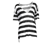Shirt Soho Stripe in Schwarz-Weiss