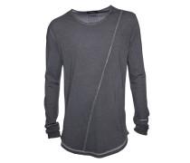 Langarmshirt Cruz vintage grey