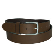 Gürtel Leather Belt clay