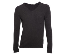 Pullover Rafal mit Wolle anthrazit