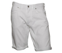 Jeans-Shorts Sneak white