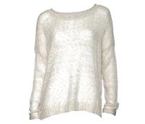 Pullover Olana in Beige-Weiss