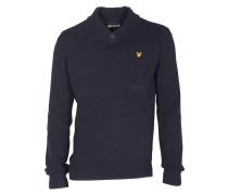 Pullover mit Schalkragen new navy