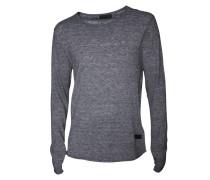 Pullover Rib grau