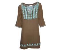 Kleid Romi khaki/turquoise