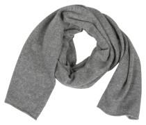 Schal in Grau meliert