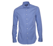 Hemd Steel blau
