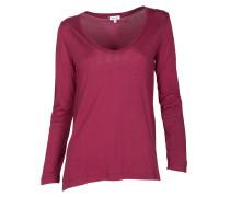 Langarm-Shirt sangria
