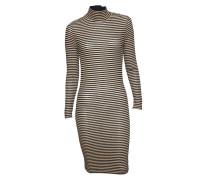 Kleid Druss schwarz-gold gestreift