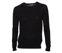 Baumwollpullover black