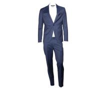 Anzug A-Lawton blau