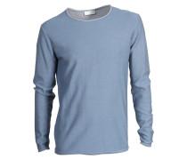 Pullover Torben aus Baumwolle blau