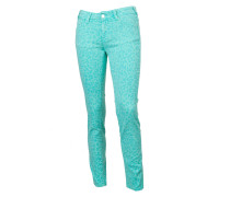 Jeans Jackie Cropped Bicolore lagoon