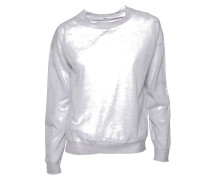 Sheer Knit leichter Pullover grau