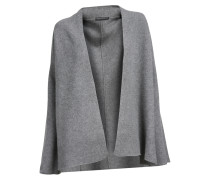 Strickjacke Kendra in Grau meliert